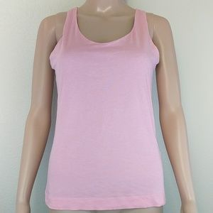 [Theory] Reversible Pink Grey Tank Top